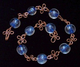 Copper Wire Anklet